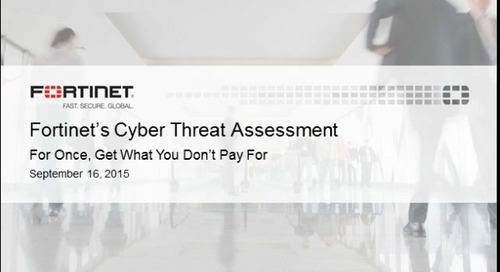 Fortinet's Cyber Threat Assessment