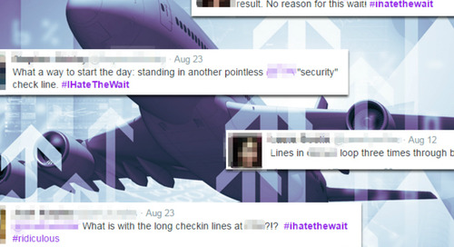 #IHateTheWait: How Airports Can Avoid Negative Social Media Coverage