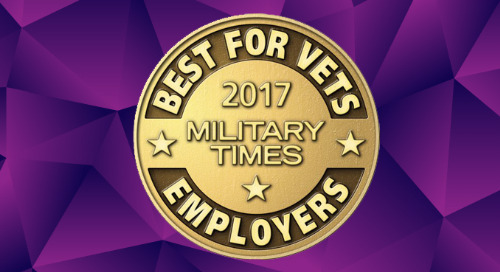 NEWS: Military Times Names Leidos Best for Vets Employer for 2017
