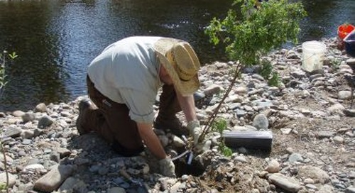 Along the Encampment River: Using 3D laser scanners to help restore a waterway