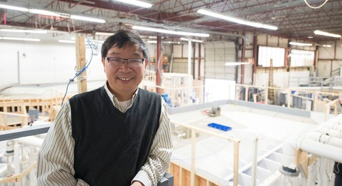 A model employee: Dr. Fangbiao Lin and his computational fluid dynamics obsession