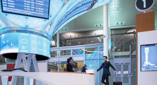 Window to a city: Airport art design with a purpose