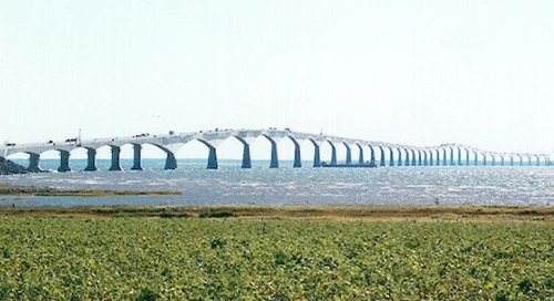 Celebrating the 20th anniversary of the Confederation Bridge