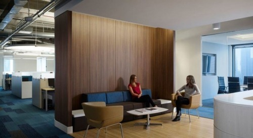 How evolving workplace design can make employees happier