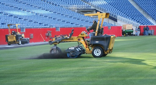 Athletic fields and concussions: The key to safety is maintenance