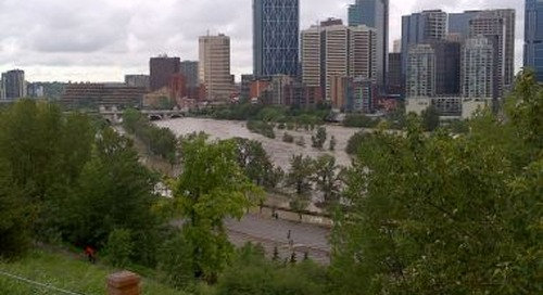 The 2013 Alberta floods: Looking back at the disaster one year later