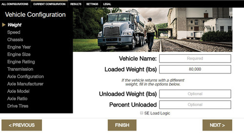 The Mack Fuel Economy Tool