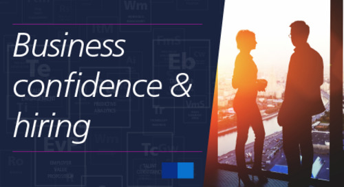 business confidence increasing competition for talent