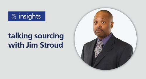 talking sourcing with Jim Stroud