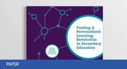 Fueling Personalized Learning in Secondary Education