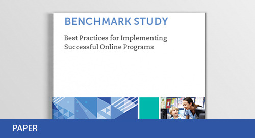 Benchmark Study: Best Practices for Implementing Successful Online Programs