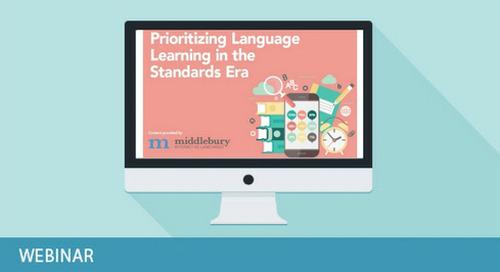 Prioritizing Language Acquisition in the Standards Era