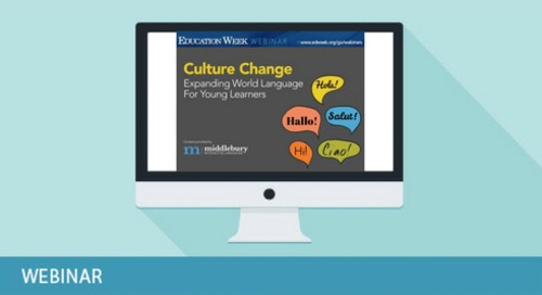 Culture Change: Expanding World Language Offerings for Young Learners