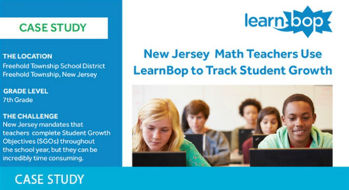 LearnBop Tracking Growth in Mathematics
