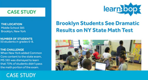 LearnBop MS385 Success Story