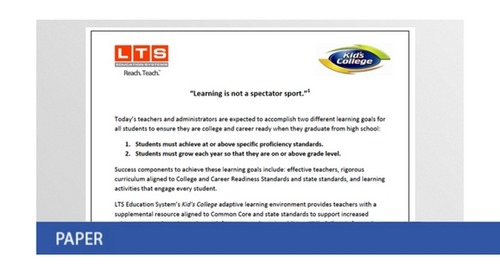Learning Is Not a Spectator Sport