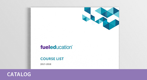 Fuel Education Course List 2017-2018