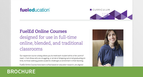 FuelEd Online Courses Flyer