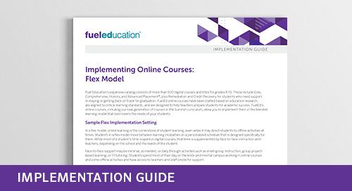 Implementing Online Courses: Flex Model
