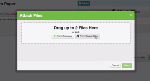 Student Access to Google Drive – Idea to Feature