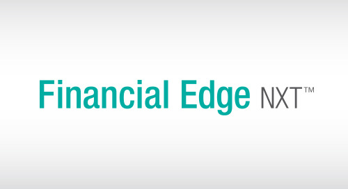 4/12: An Introduction to Financial Edge NXT (Webinar)