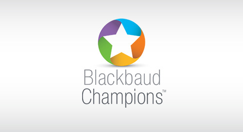OVERVIEW: Blackbaud Champions