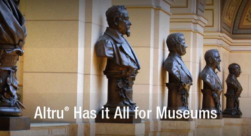 DATASHEET: Altru for Museums
