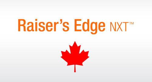 RECORDED WEBINAR: Raiser's Edge NXT for Canadian Organizations