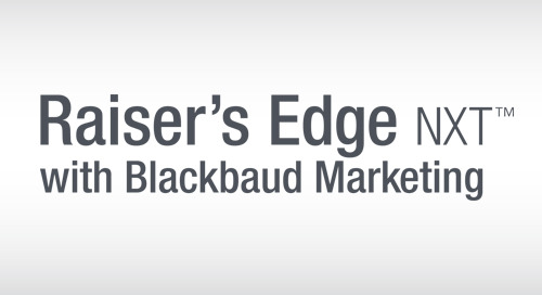 2/22: Adding Advanced Email Marketing & Automation to Your Raiser's Edge NXT (Webinar)