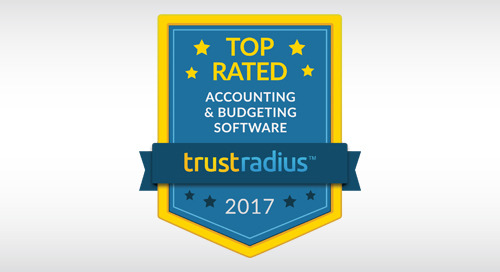 NEWS: Financial Edge NXT Named a Top Rated Accounting & Budgeting Solution by Software Users