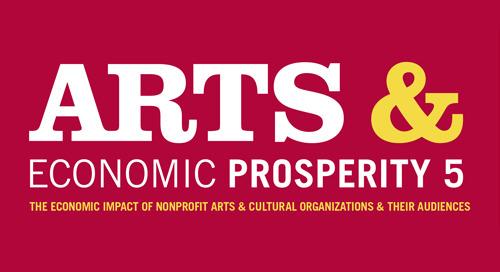 NEWS: Nonprofit Arts & Culture Industry Generates $166.3 Billion