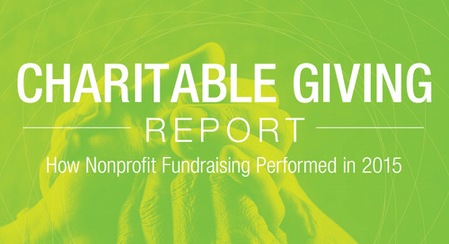 The 2015 Charitable Giving Report is Here!