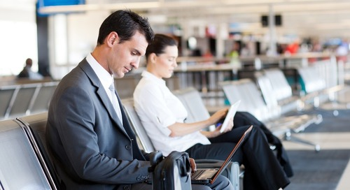 Business travelers, be careful connecting to public Wi-Fi at airports