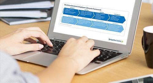 The SiriusDecisions Employee Lifecycle Framework