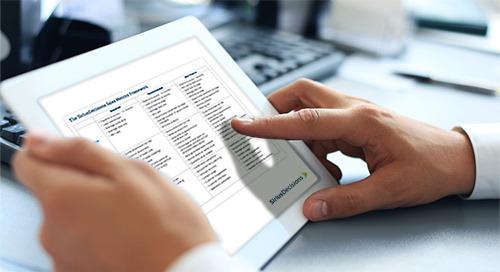 The SiriusDecisions Sales Metrics Framework