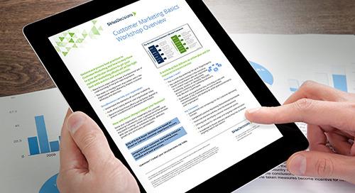 Customer Marketing Basics Workshop Overview