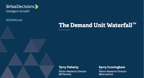 The Demand Unit Waterfall Webcast Replay