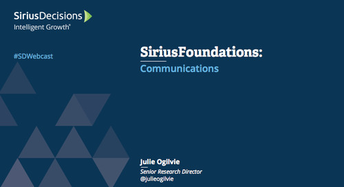 SiriusFoundations: Communications Webcast Replay