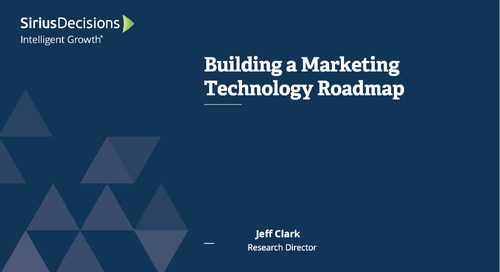 Building a Marketing Technology Roadmap Webcast Replay