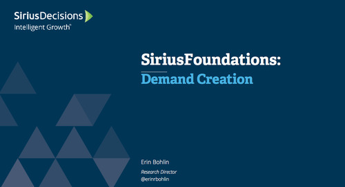 SiriusFoundations: Demand Creation Webcast Replay