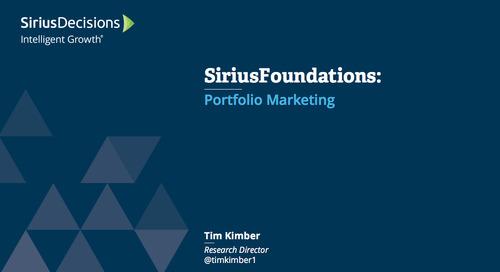 SiriusFoundations: Portfolio Marketing Webcast Replay