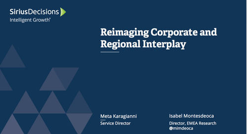Reimagining Corporate and Regional Interplay Webcast Replay