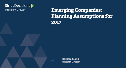 Emerging Companies: Planning Assumptions for 2017 Webcast Replay