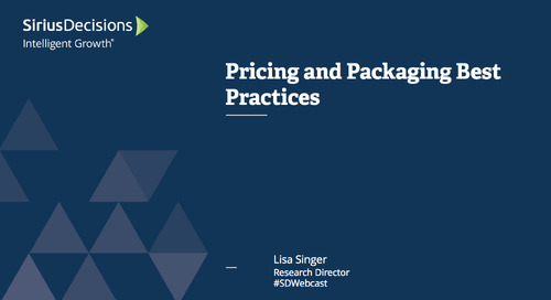 Pricing and Packaging Best Practices Webcast Replay