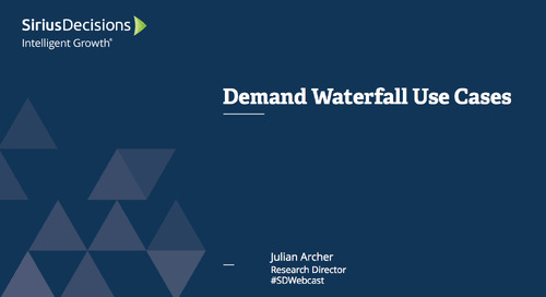 Demand Waterfall Use Cases Webcast Replay