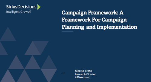 Campaign Planning Webcast Replay