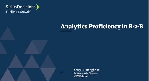 Analytics Proficiency in B-to-B Webcast Replay