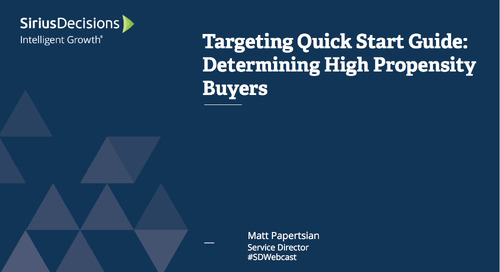 Targeting Quick Start Guide Webcast Replay