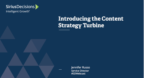 Introducing the Content Strategy Turbine Webcast Replay