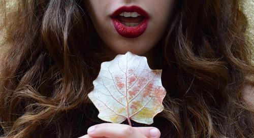 Get the Look: Soft, Mistletoe-Ready Lips